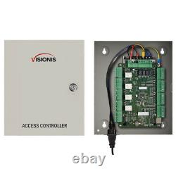 Visionis FPC-7308 Four Door Access Control with Electric Strike & Keypad/Readers