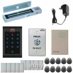 Visionis One Door Access Control 600lbs Maglock with VIS-3002 Indoor Keypad
