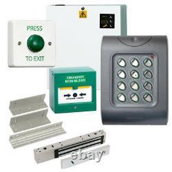 Weatherproof IP67 Code Access Control Door Entry Kit, Power Supply MagLock Z&L