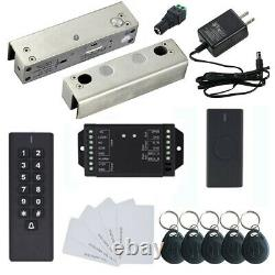 Wireless Access Control System with Glass Door Electric Drop Bolt Lock Keypad