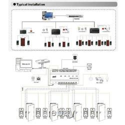 ZKAccess inBIO460 4-Doors Controller Electronical Door Access Control TCP/IP