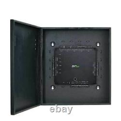 ZKTeco Access Control Panel with Metal Enclosure & Power Supply (4 Doors)