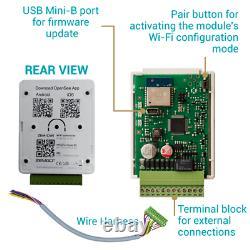 Zemgo Smart WiFi Door Access Control System with App + Electric Strike + Keypad