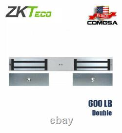 Zkteco Maglock double 600lbs, magnetic lock for access control or entry door USA