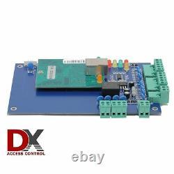 1 Panneau De Commande D'accès De Porte Avec Boîte D'alimentation Ethernet Tcp/ip Serrures De Porte
