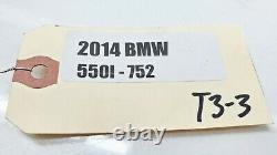 2014-2016 Bmw 550i F10 4.4l V8 Ordinateur De Moteur Ecu Cas4 Key Oem