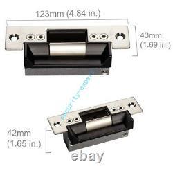 2 Portes Couleur LCD Fingerprint Biometric Access Control Systems +ansi Strike Lock