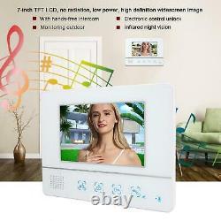 3 Appartement Video Doorbell Camera Intercom Door Phone Bell Système De Contrôle D'accès