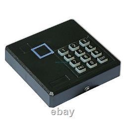 4 Porte Tcpip Access Control System Kit Ansi Strike Lock Keypad Reader 230v Power