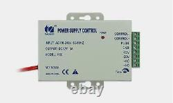 4 Portes Security Network Rfid Access Control Board Kit Metal Ac110v Power Box