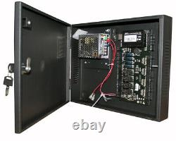 4 Portes Zk C3 400 Access Control Board Systems & 600lbs Magnetic Lock Power Box