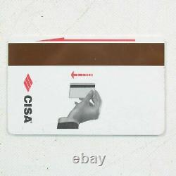 500x Cisa Hotel Key Cards Entrée De Porte Carte De Contrôle D'accès Cartes À Bande Magnétique