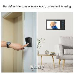 7 Tft Video Doorbell Intercom Caméra De Sécurité Door Bell Phone Access Control DD