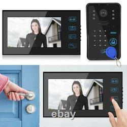 7 Video Doorbell Intercom Caméra De Sécurité Porte Bell Ring Contrôle D'accès Au Téléphone