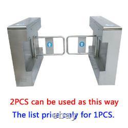 Access Control Semi-auto Half Height Swing Gate Tourniquet Porte 304# Inoxydable