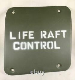 B-17 Flying Fortress Life Raft Control Porte D'accès Pts-0101