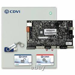 CDVI A22 Panneau De Contrôle D'accès Hybride 2 Portes Atrium