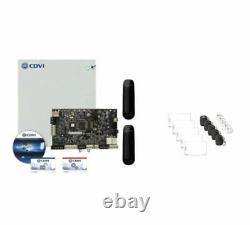 CDVI A22kitstb Système De Contrôle D'accès 2 Portes, Lecteurs Star Et Kits D'informations D'identification