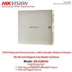 Contrôleur D'accès Réseau Hikvision-us Ds-k2604g 4-door Professional 32bit