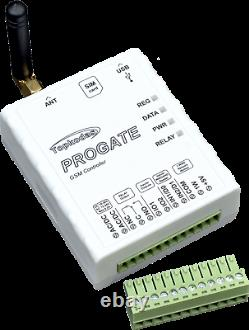 Contrôleur D'accès Sms 4g Lte Gsm Remote Control Switch Garage Gate Gate Opener Sms