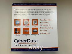 Cyberdata 011426 Clavier Rfid Sip Contrôle D'accès Sécurisé Portes Poe Point D'extrémité Portes
