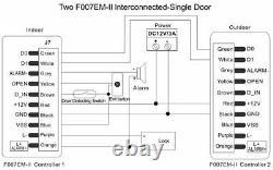 Fingerprint Biométrique & 125khz ID Door Access Control Wiegand 26 Entrée Et Sortie