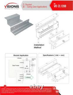 Fpc-5019 1 Porte Contrôle D'accès Porte D'insonorisation 1200lbs Kit De Verrouillage Électromagnétique