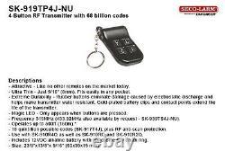 Fpc-5062 4 Portes Access Control Outswinging Porte 1200lbs Kit De Verrouillage Électromagnétique