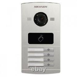 Hikvision Video Access Control Ds-kv8402-im Station De Porte Vidéo En Métal
