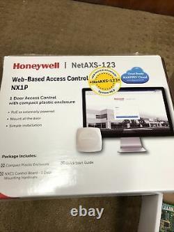 Honeywell Contrôle D'accès Nx1p Une Porte Enserrée, Compacte, Poe Ou Extérieurement Pow