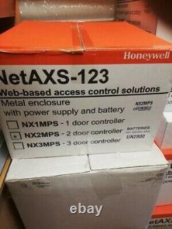 Honeywell Netaxs 123, 2 Panneau De Contrôle D'accès Des Panneaux De Portes