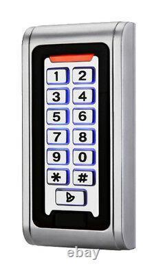 Interlock Sas Sas Keypad Access Control Door Entry Kit + Alimentation Et Maglocks