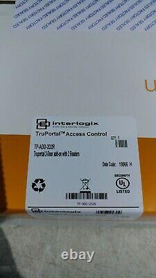 Interlogix Tp-add-2d2r Truportal Access Control 2-door Add-on Avec 2 Lecteurs Nouveau