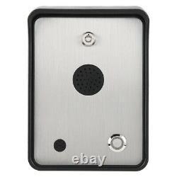 Interphone Audio Gsm Pour Contrôleur D'accès Porte Et Porte À Porte