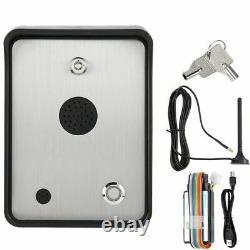 Interphone Audio Gsm Pour Système De Contrôle D'entrée De Porte Porte Porte À Une Seule Maison