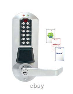 Kaba E-plex Série 50xx Pc Programmable Contrôle D'accès Serrure De Porte Codée