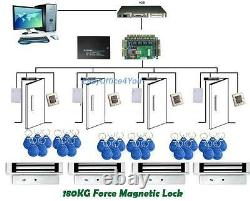 Keyless Magnetic Door Locks Maglock Door Entry Systems Rfid Door Access Control