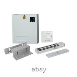Kit Complet Complet De Commande D'accès En Métal Ensemble Electric Magnetic Door Lock Kit 1