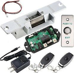 Kit De Contrôle D'accès De Porte Uhppote Avec Télécommande De Verrouillage Électrique