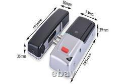 Kit De Contrôle D'accès De Serrure De Porte Électrique 433mhz Sans Fil Rfid Keypad Télécommande