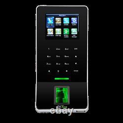 Kit Door Access Control System Biometric Fingerprint Zkteco, 600lb Zk F22 Entrée