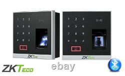 Kit Door Access Control System Biometric Fingerprint Zkteco, 600lb Zk X8 Entrée