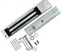 Kit Door Access Control System Zkteco Magnetic Lock, Access ID Card Password. Zk