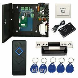 Kits Complets Tcp/ip De Système De Contrôle D'accès À Une Porte Avec 110