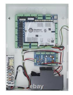Nouveau! Geovision Gv-as8111 Kit 8 Portes Access Control Complete Kit/16 Gv-readers
