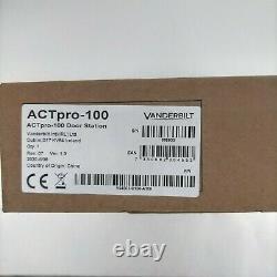 Nouvelle Actpro 100 Act Pro Vanderbilt Access Control Door Station