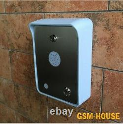 Nsee 4g Hs Gsm Quad Band Wireless Intercom Gate Access Entry Control System (en Anglais Seulement)