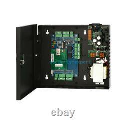 Panneau De Commande D'accès Réseau 2 Portes Ac230v Power Box Strike No Lock Rfid Reader