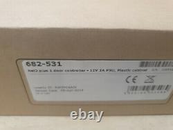 Paxton 682-531 Net2 Plus 1 Contrôleur De Porte Access Control 12v 2a Armoire En Plastique