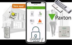 Paxton App Based Access Control Ouvrir Les Portes Étroites De Mobile Supply & Fit